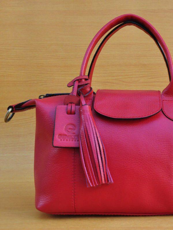 Elcee Bag - Red GL16 Jual Tas Kulit Asli Jogja Genkzhi Leather