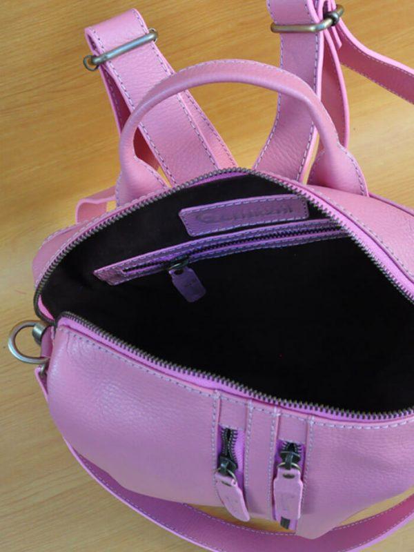 Greesa Backpack - Sexy Pink GL22 Jual Tas Kulit Asli Jogja Genkzhi Leather