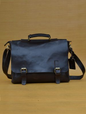 Cloredo Bag – Dark Brown GL30 Jual Tas Kulit Asli Jogja Genkzhi Leather
