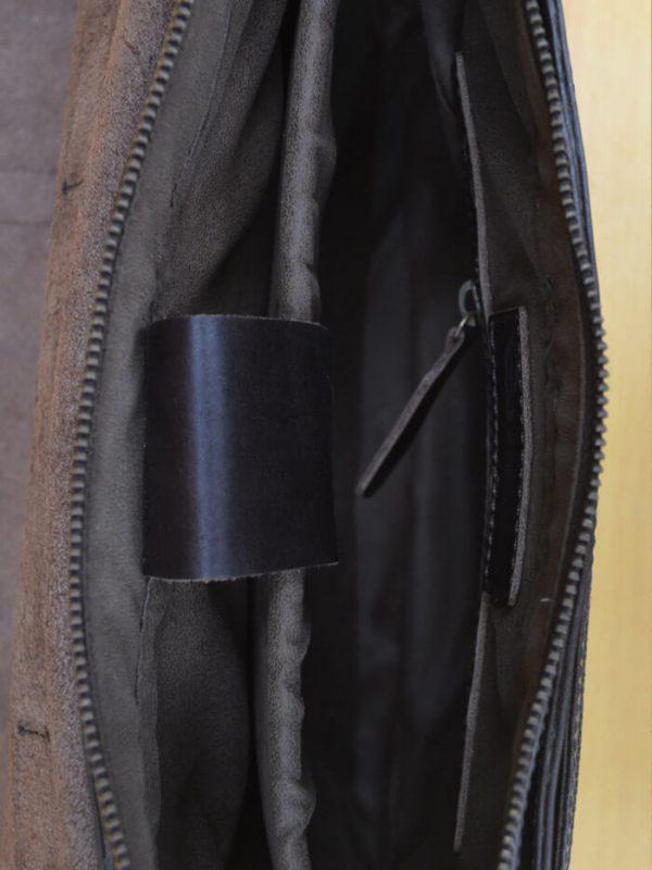 Cloredo Bag – Dark Brown GL30 Jual Tas Kulit Asli Jogja Genkzhi Leather