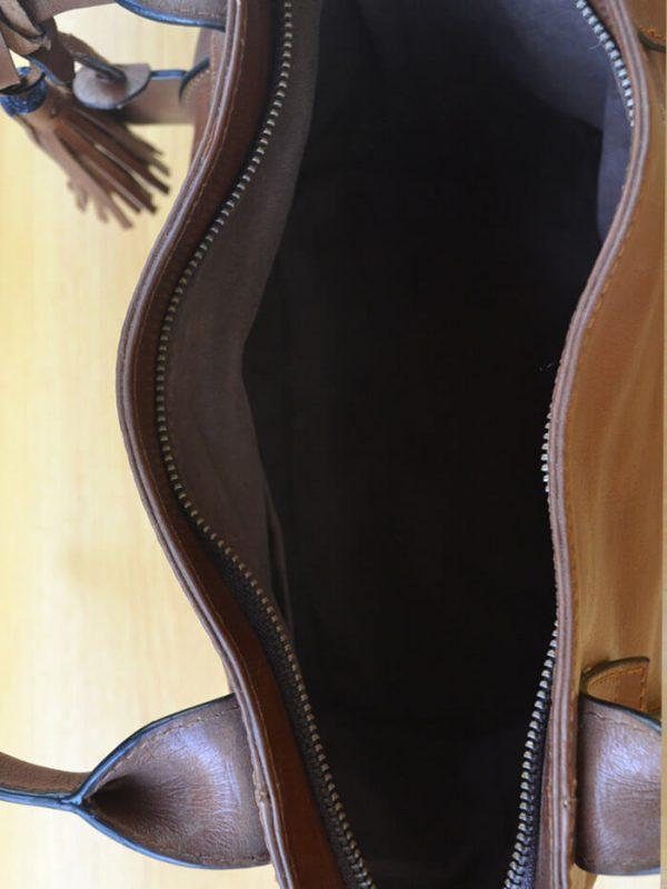 Emerzhi Bag - Brown GL32Jual Tas Kulit Asli Jogja Genkzhi Leather