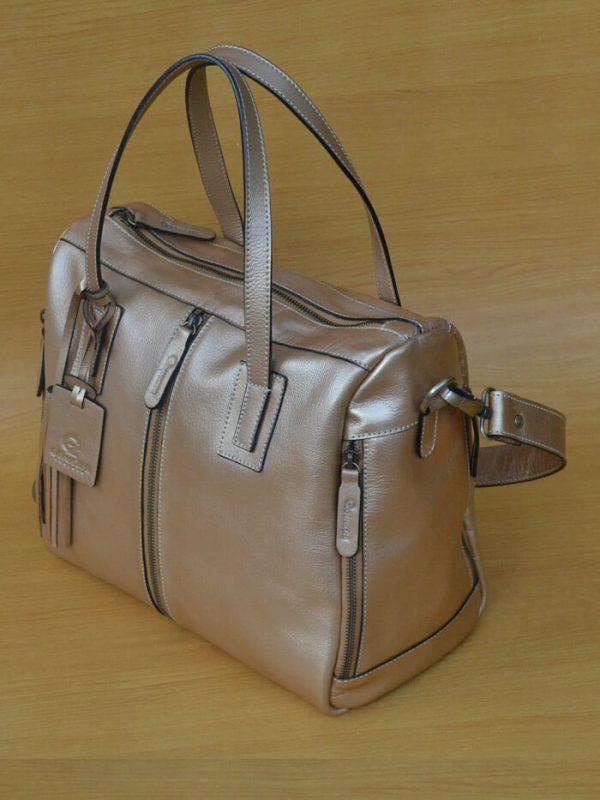 Ollsa Bag – Golden rose GL29 ual Tas Kulit Asli Jogja Genkzhi Leather (2)