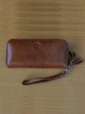 Dompet Wanita - Brown GL 34 Kerajinan kulit asli jogja Genkzhi Leather