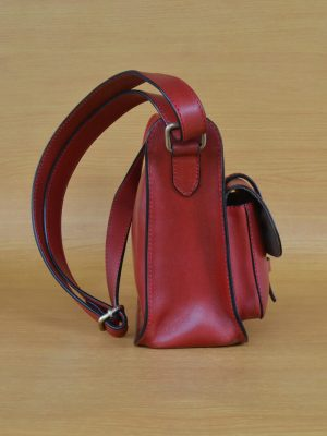 Ezee Bag – Red GL26 Jual Tas Kulit Asli Jogja Genkzhi Leather