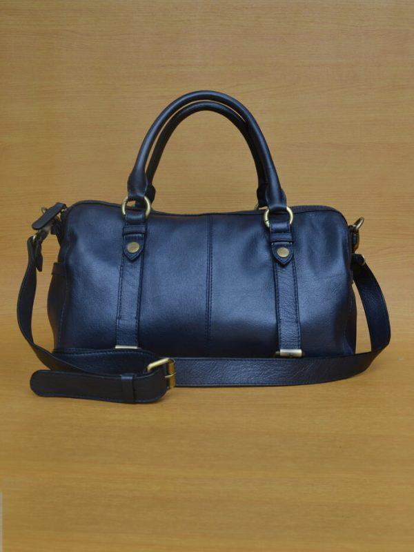 Maxena Bag – Black GL 31 Jual Tas Kulit Asli Jogja Genkzhi Leather